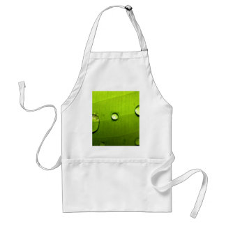 water drop on leaves adult apron