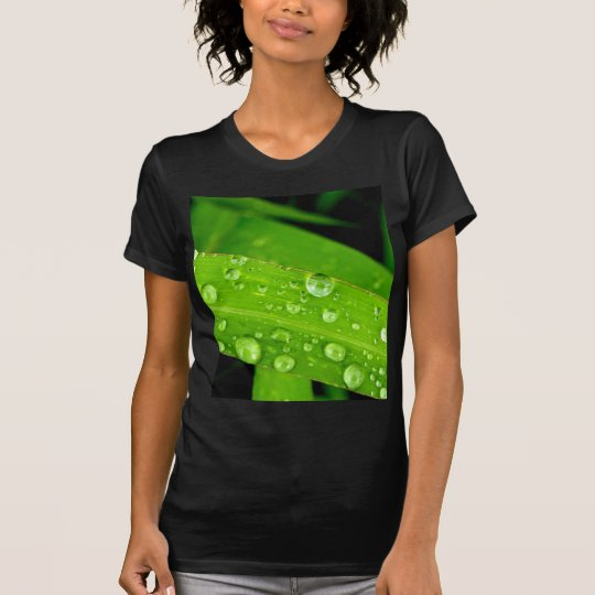 water drop on leaves T-Shirt