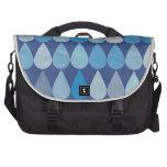 Water drop pattern bag commuter bags