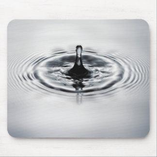 Water drop splash mouse pad