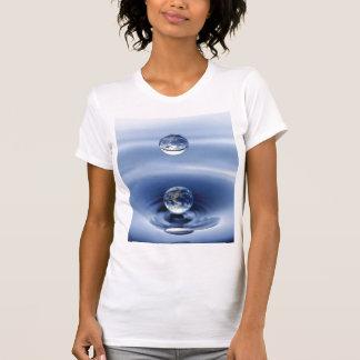 water drop tee shirt