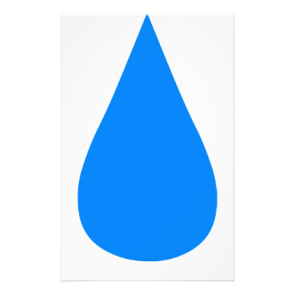 Water Droplet Stationery
