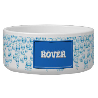 Water droplets bowl