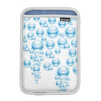 Water droplets iPad mini sleeve