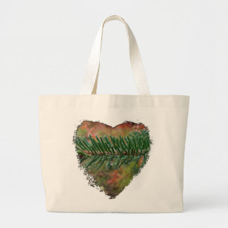 Water Droplets on Spruce Bough Bags