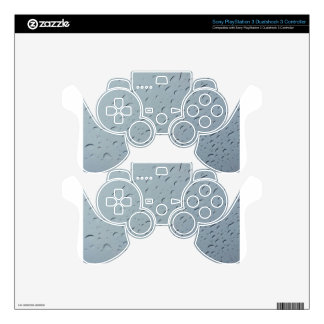 Water droplets PS3 controller skin