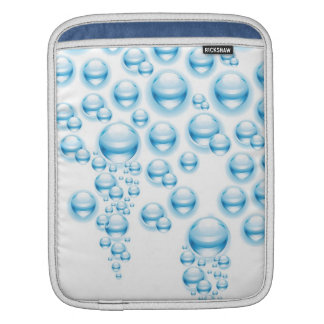 Water droplets sleeve for iPads