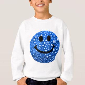 Water droplets smiley sweatshirt