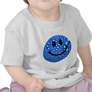 Water droplets smiley shirts