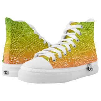 Water Droplets Texture-Colorful Gradient Printed Shoes