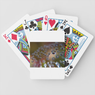 Water Droplets-Water in Motion Bicycle Playing Cards
