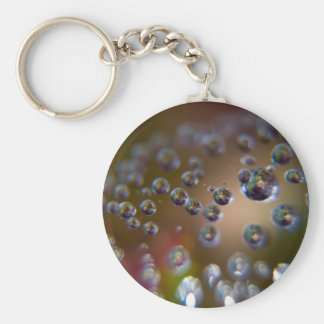 Water Droplets-Water in Motion Keychain
