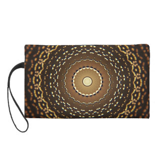 Water Droplets Wristlet