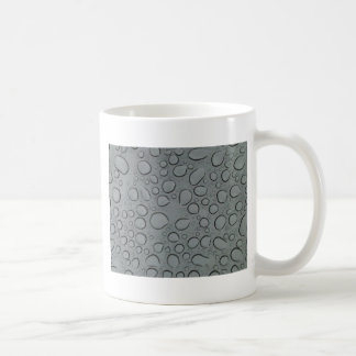 Water droplettes through a sunroof classic white coffee mug