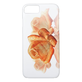 Water Dropped Rose with Sheet Music - iPhone Case