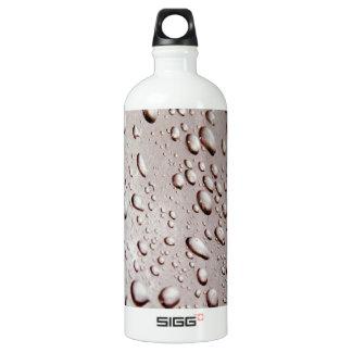 Water Drops Aluminum Water Bottle