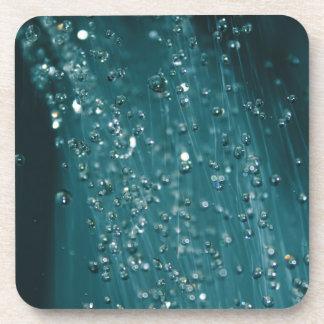 Water Drops Drink Coaster