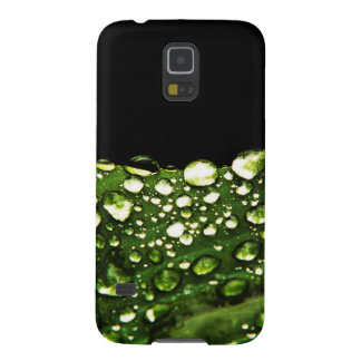 Water Drops Crystal Clear Fine glass tiles Beautif Case For Galaxy S5