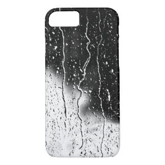 Water Drops Crystal Clear Fine glass tiles Beautif iPhone 8/7 Case