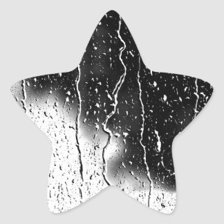 Water Drops Crystal Clear Fine glass tiles Beautif Star Sticker