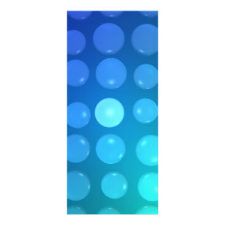 water drops customized rack card