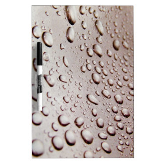 Water Drops Dry-Erase Whiteboards