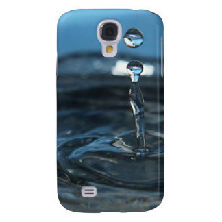 Water Drops in Body of Water Samsung Galaxy S4 Cover