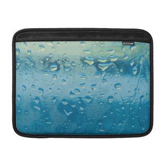 Water drops macro sleeves for MacBook air