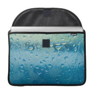 Water drops macro MacBook pro sleeve