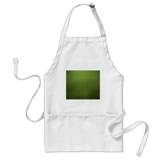 Water drops on a spider  web (Green) Adult Apron