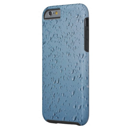 water drops photo tough iPhone 6 case