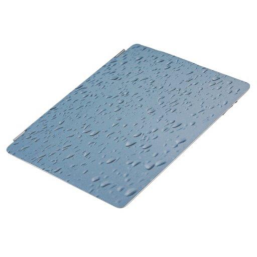 water drops photo iPad smart cover