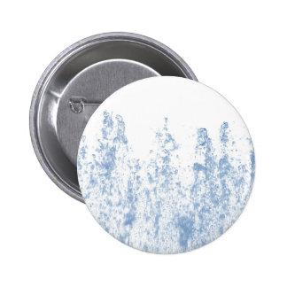 Water drops pinback button