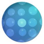 water drops plates
