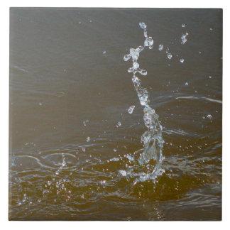 Water drops splash ripples droplets Tile