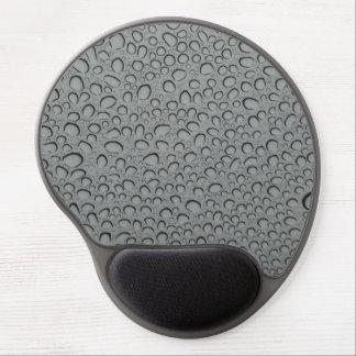 Water drops texture gel mousepads