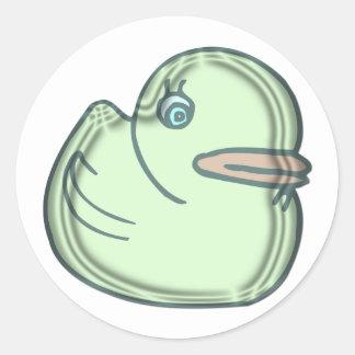 Water Duck Classic Round Sticker