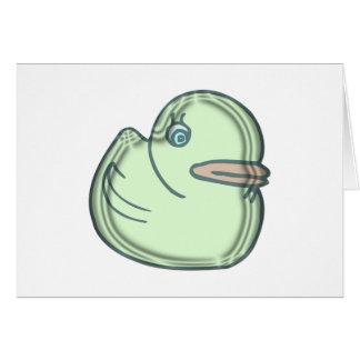 Water Duckie Card