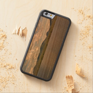Water Earth and Sky Carved Wood Phone Case