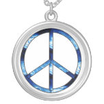 Water Element Peace Sign Pendants