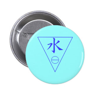 Water Element Pinback Button