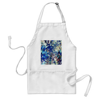 WATER Element Ripple Pattern Adult Apron