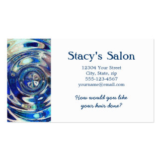WATER Element Ripple Pattern Business Cards