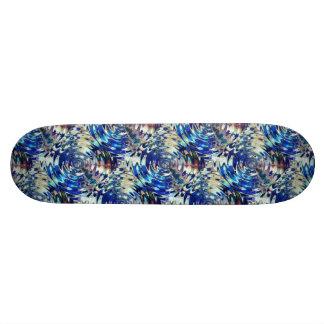 WATER Element Ripple Pattern Skateboard Deck