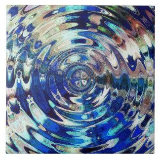 WATER Element Ripple Pattern Tile