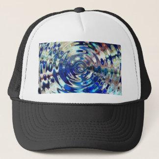 WATER Element Ripple Pattern Trucker Hat