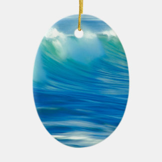 Water Emerald Wave Olympic National Park Ornament
