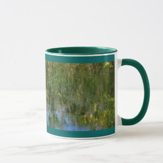 Water Emeralds and Sapphires Mug