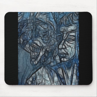 Water Enigma Mouse Pad