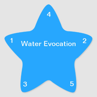 Water Evocation Sticker